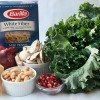 New Year, New Recipe, New GIVEAWAY!: Pasta with Kale and Mushrooms