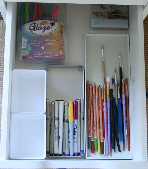 pen drawer