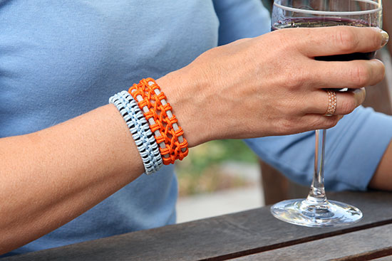 Lacey Macrame Bracelet by Remarkably Domestic