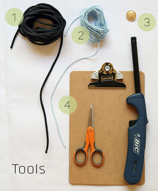 Lacey macrame tools