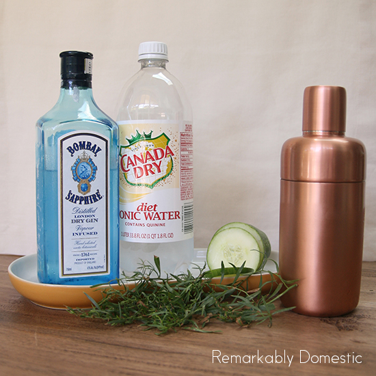 gin & tonic ingredients